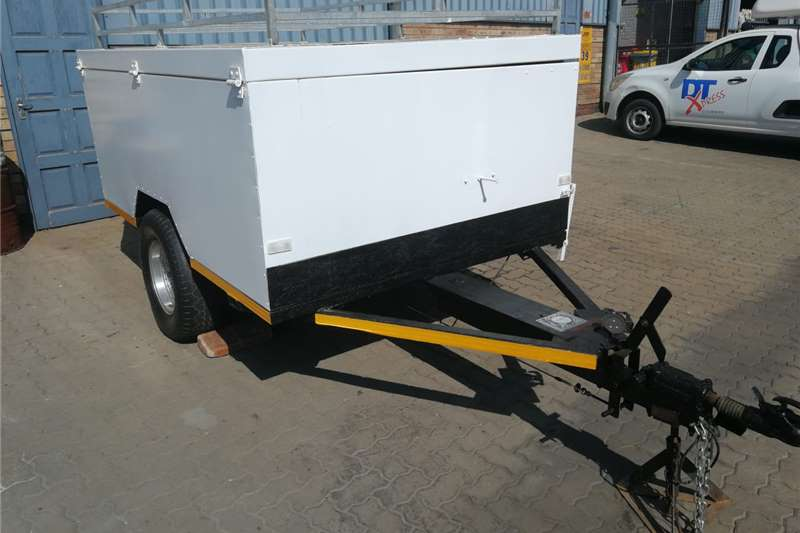 Accessories Trailers Single Axle Trailer 2008