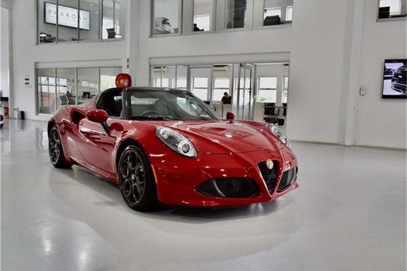 Alfa Romeo 4C Spider 2016