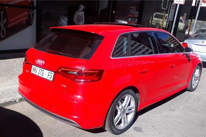 Audi A3 4 door 1.0TFSI S line auto 2014