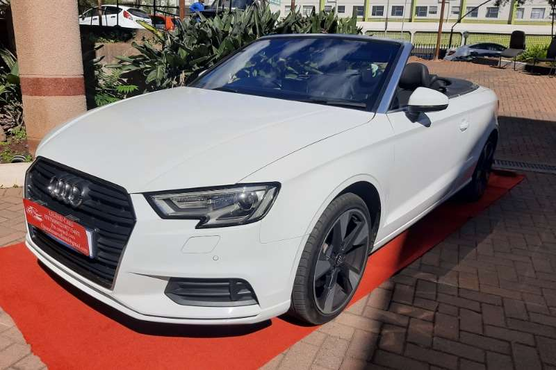 2018 Audi A3 cabriolet A3 2.0T FSI STRONIC CABRIOLET