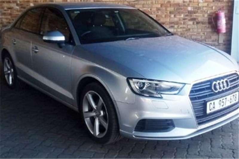 2018 Audi A3 sedan 1.0TFSI auto