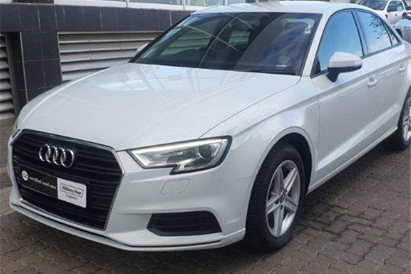 2019 Audi A3 sedan 1.0TFSI auto