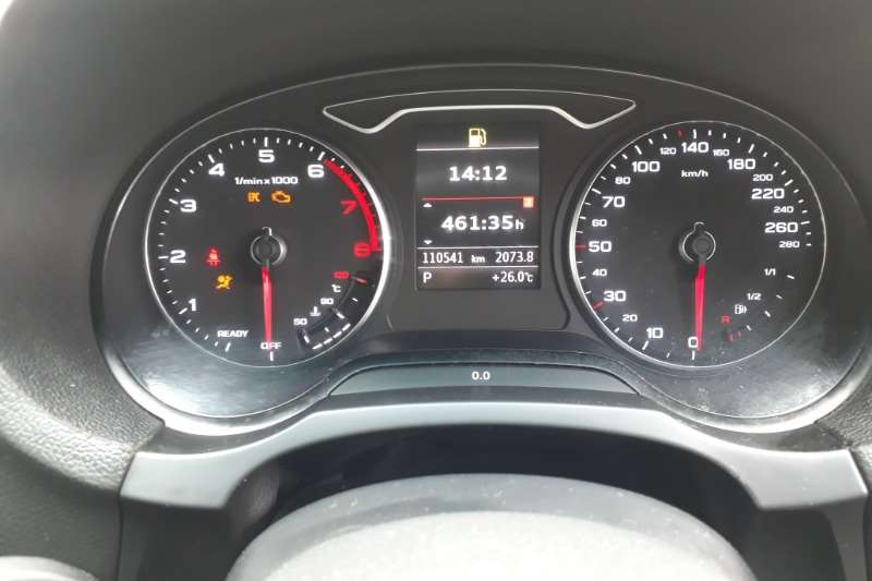 Audi A3 sedan 2.0TFSI auto 2015