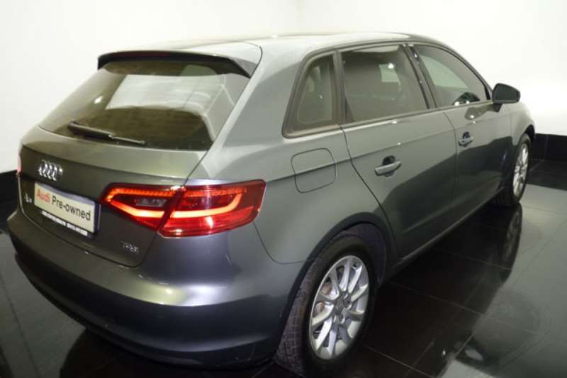 Audi A3 Sportback 1.4T S auto 2014