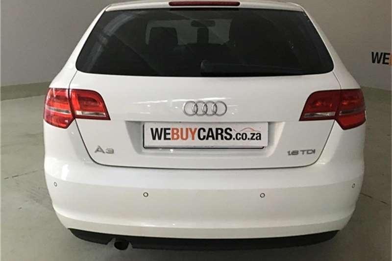 Audi A3 Sportback 1.6TDI Attraction 2012
