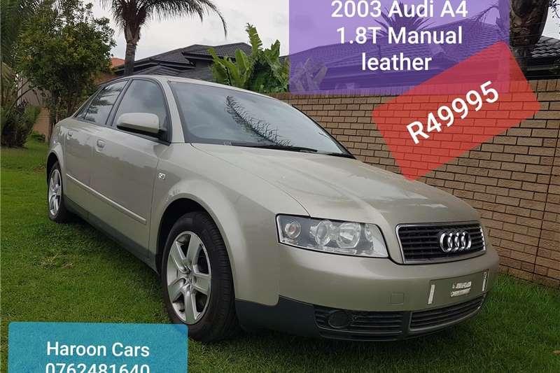 Audi A4 1.8T 2003