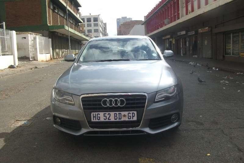 Audi A4 1.8T S auto 2011