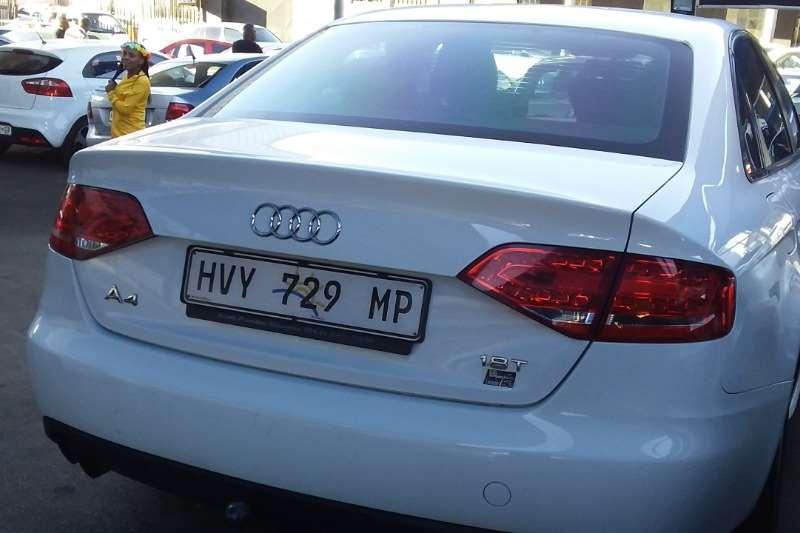 Audi A4 1.8T SE auto 2011