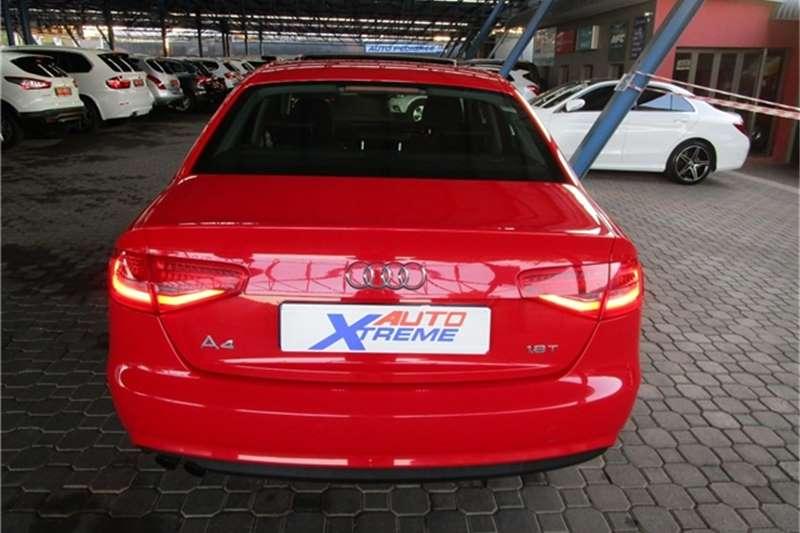 Audi A4 1.8T SE auto 2012