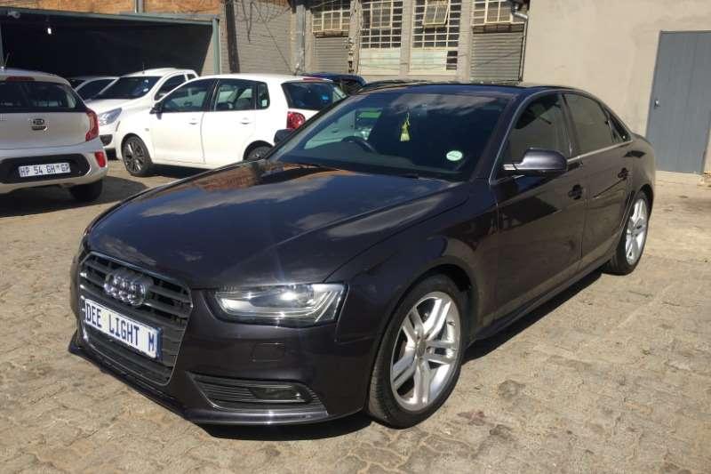 Audi A4 1.8T SE Sport Edition Plus auto 2012