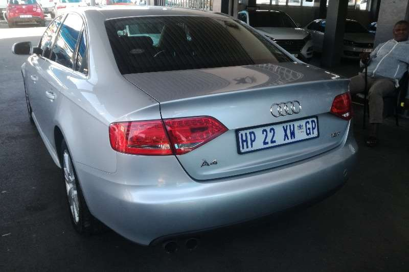 Audi A4 1.8T sedan auto 2011