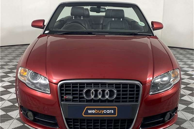 Used 2007 Audi A4 2.0T cabriolet multitronic
