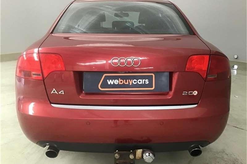 Audi A4 2.0T Multitronic 2006