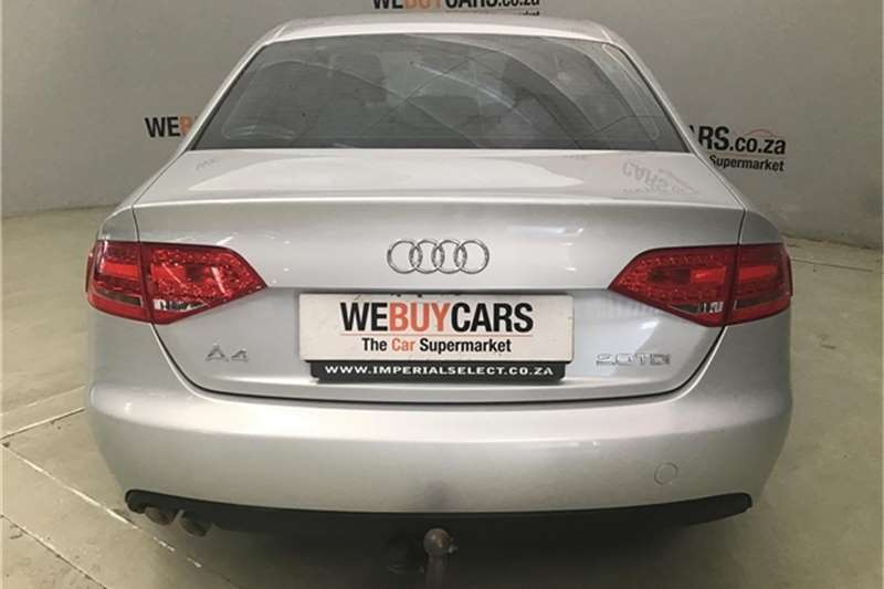 Audi A4 2.0TDI Ambition multitronic 2012