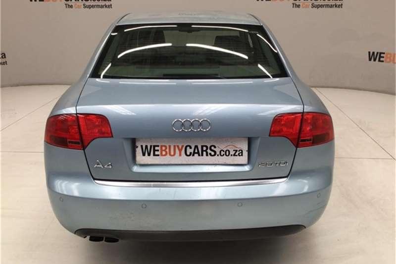 Audi A4 2.0TDI Multitronic 2006