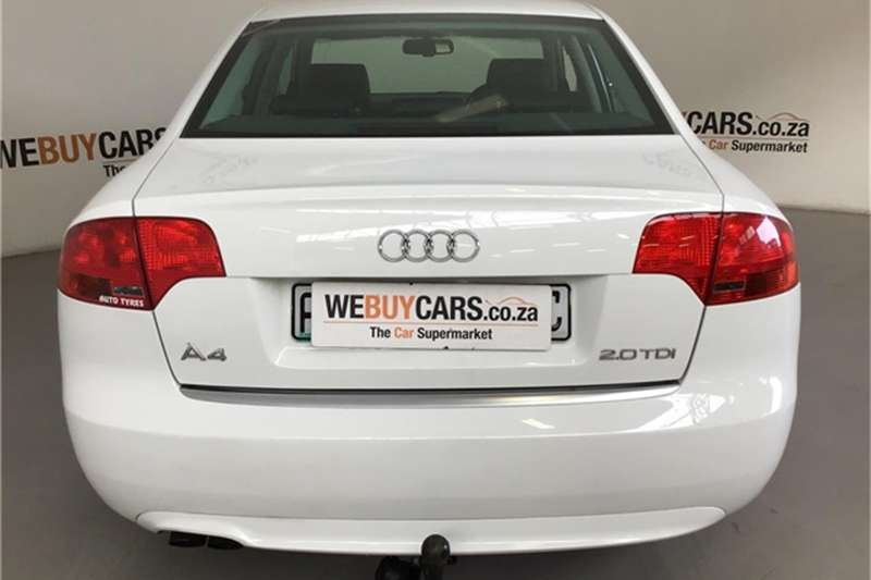 Audi A4 2.0TDI Multitronic 2008