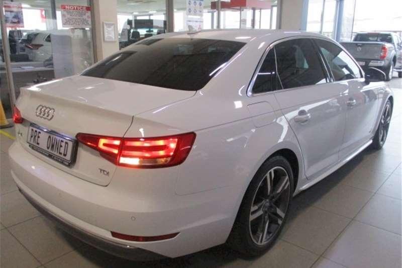 Audi A4 2.0TDI sport 2017