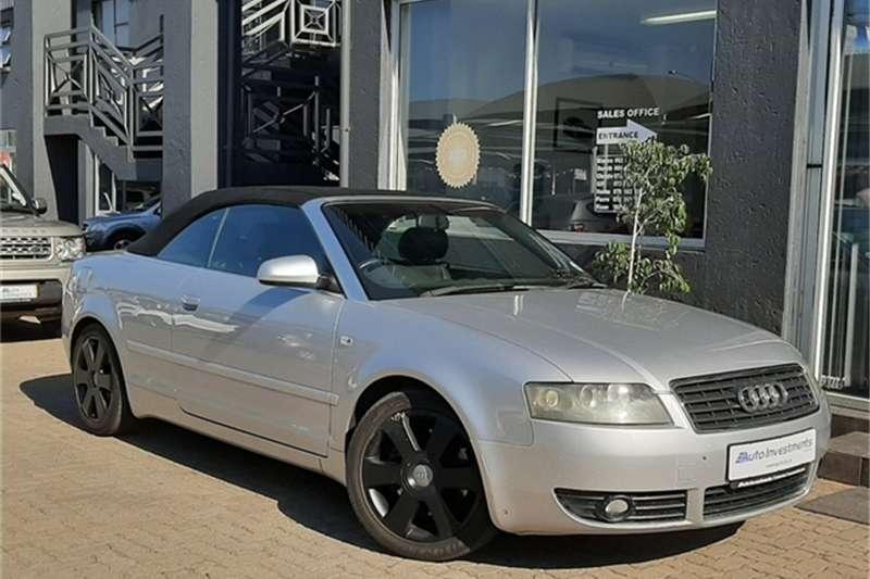 Audi A4 3.0 CABRIOLET MULTITRONIC 2003