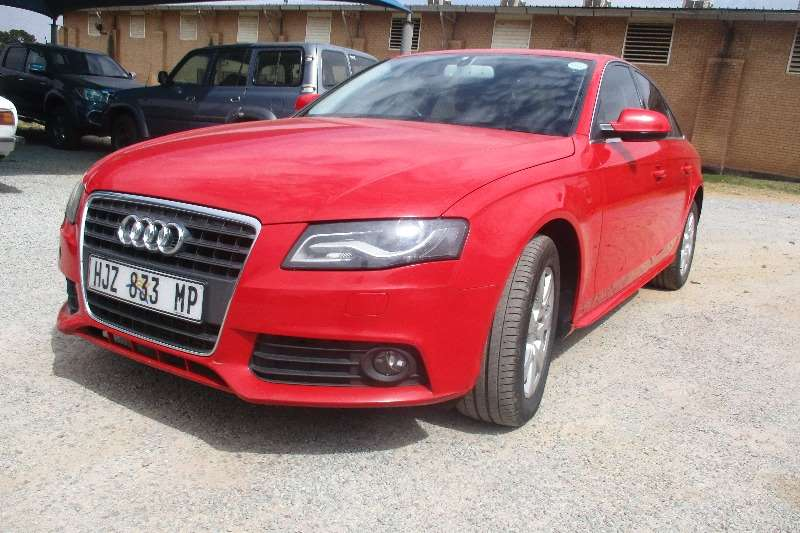 2012 Audi A4 1.8T Attraction