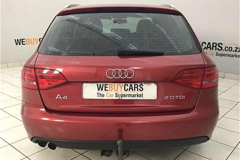 2009 Audi A4 Avant 2.0TDI Ambition multitronic