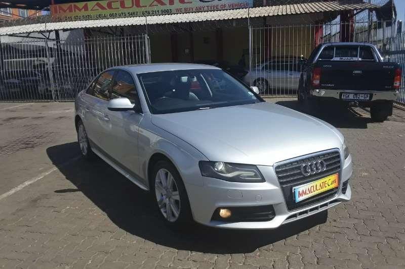 Audi A4 Sedan 2.0 2011