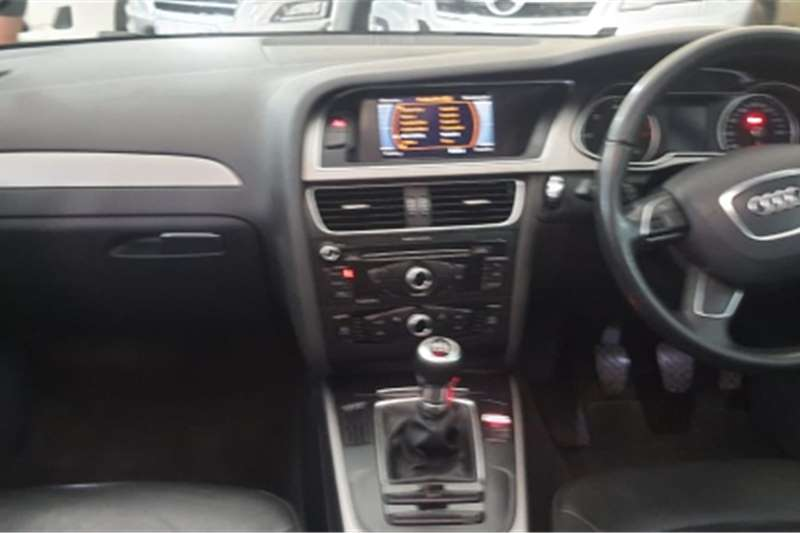 2015 Audi A4 sedan