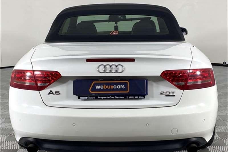 2012 Audi A5 A5 cabriolet 2.0T quattro