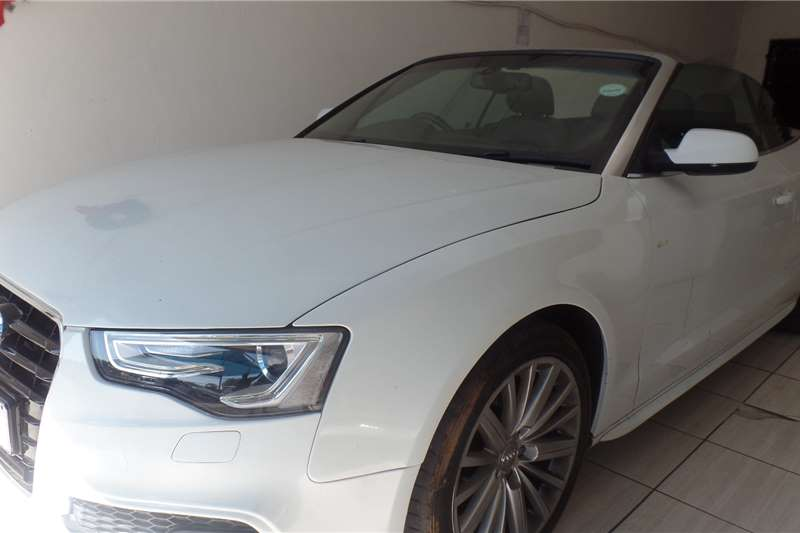 Audi A5 Cabriolet A5 2.0T FSi CABRIOLET SPORT STRONIC 2016