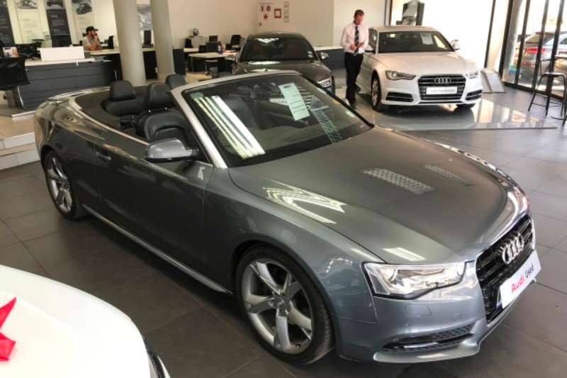 2013 Audi A5 cabriolet A5 2.0T FSi CABRIOLET SPORT STRONIC