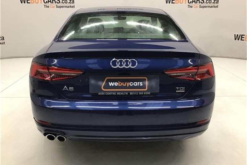 Audi A5 coupe 2.0TDI quattro 2018