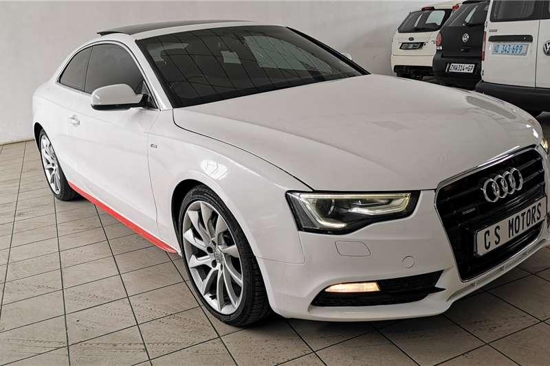 Audi A5 coupe 2.0TFSI quattro sport S line sports 2014