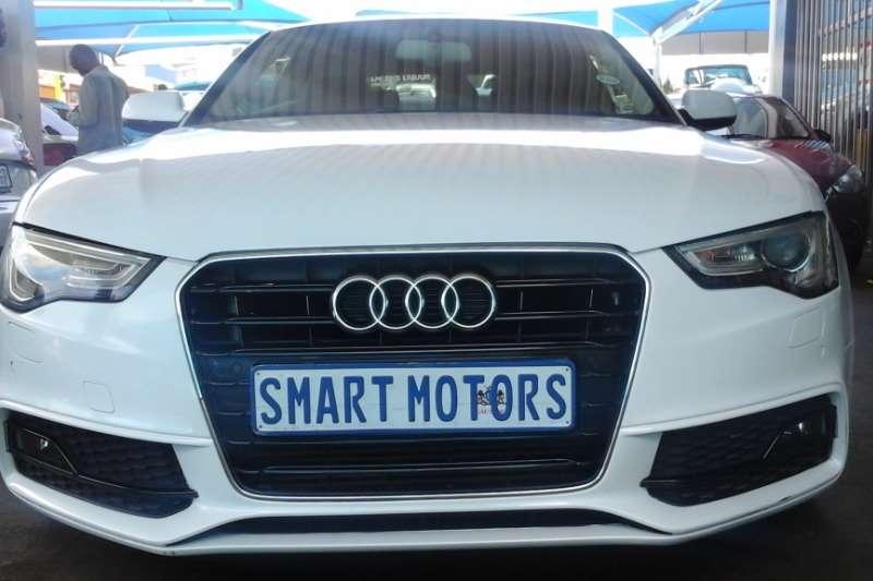 Audi A5 coupe 2.0TFSI quattro sport S line sports 2015