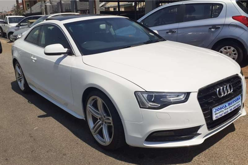 Audi A5 Coupe A5 2.0T FSI STRONIC SPORT QUATTRO (185KW) 2012
