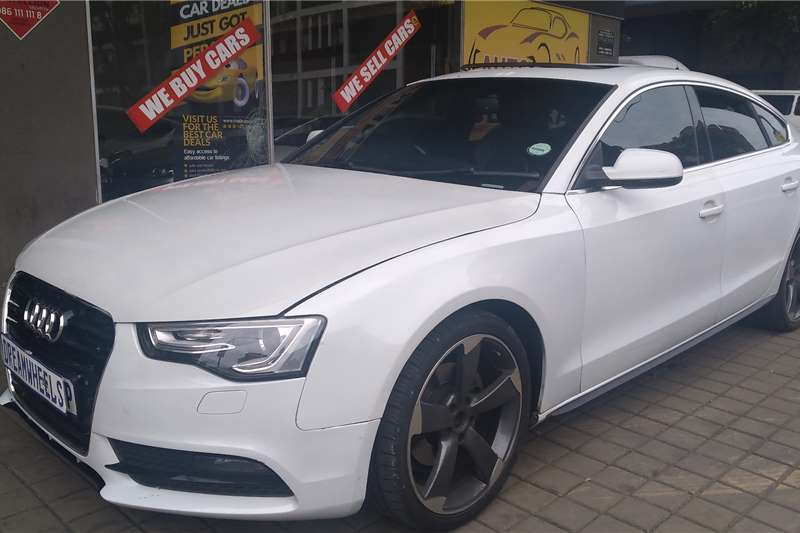 2014 Audi A5 A5 Sportback 2.0TFSI quattro sport S line sports