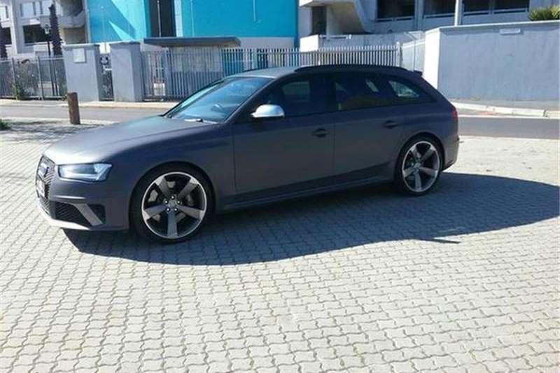 Audi RS4 Avant Quattro 2013
