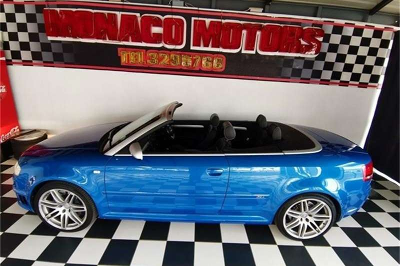 Audi RS4 QUATTRO CABRIOLET 2007