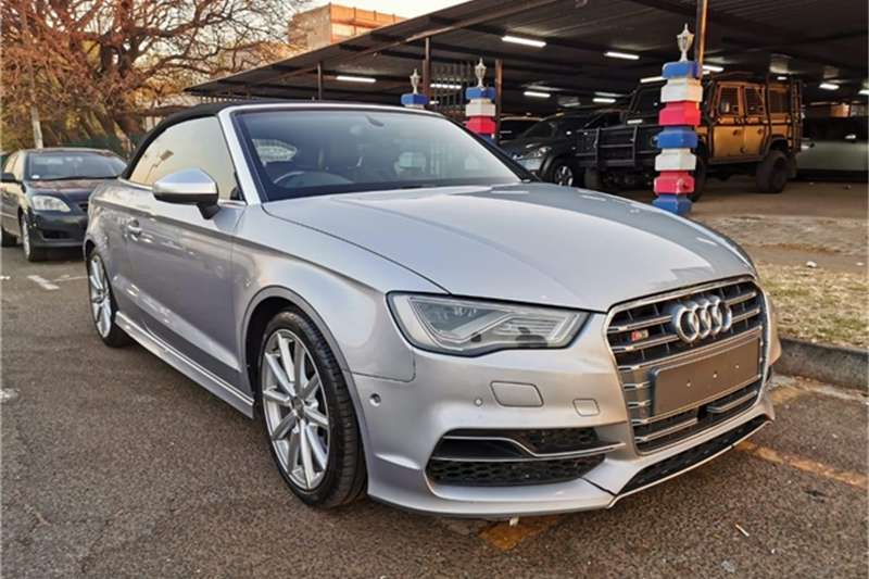 Audi S3 cabriolet quattro 2015