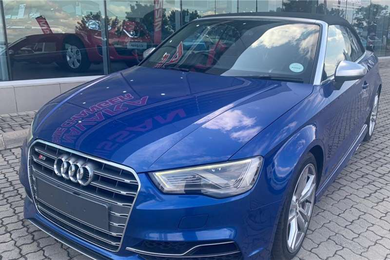 Audi S3 Cabriolet STRONIC 2015