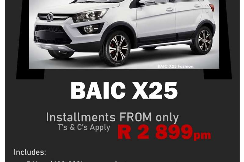 Used 2021 BAIC X25