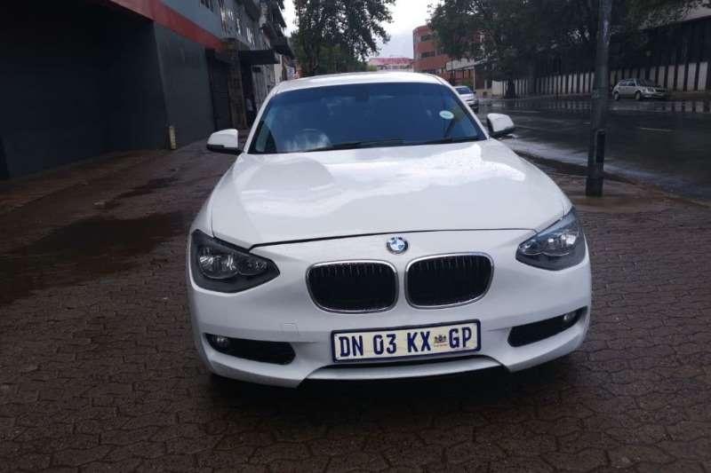BMW 1 Series 116i 3 door auto 2012