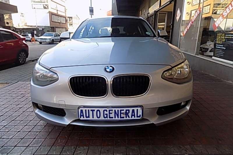 BMW 1 Series 116i 3 door auto 2015