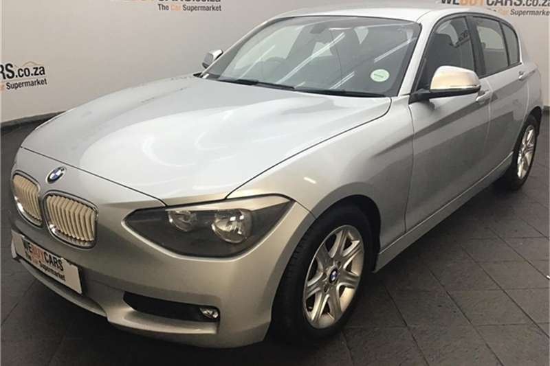 BMW 1 Series 116i 5-door 2012