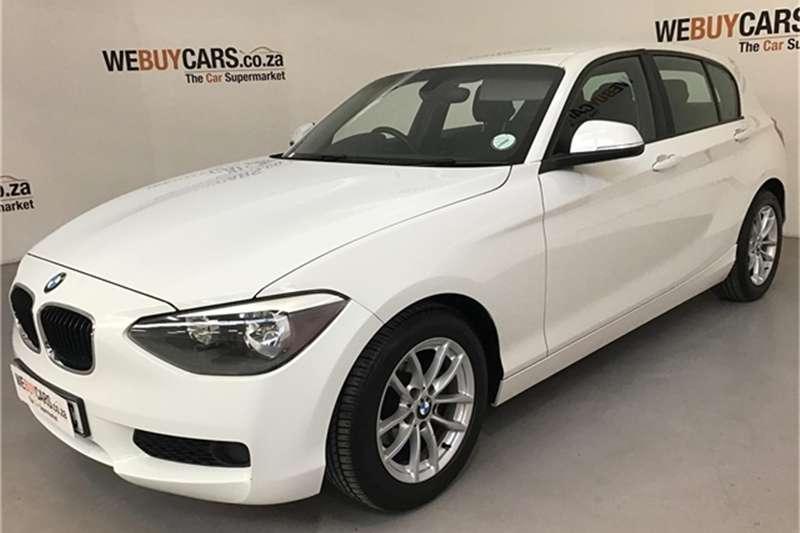 BMW 1 Series 116i 5 door 2012