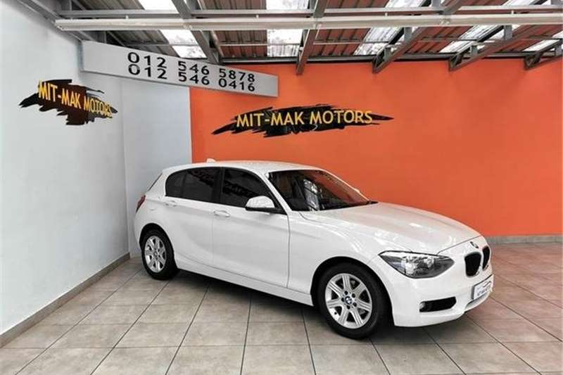 BMW 1 Series 116i 5-Door Auto 2012