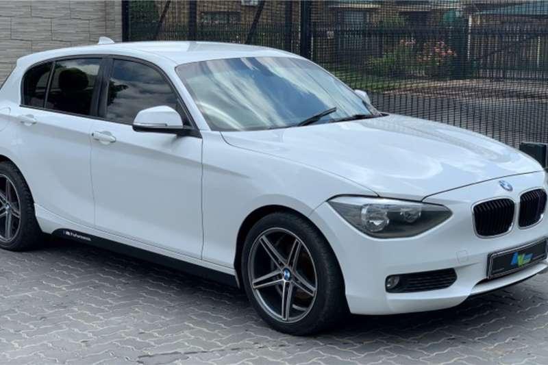 BMW 1 Series 116i 5 door auto 2012