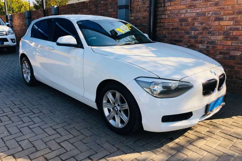 BMW 1 Series 116i 5 door auto 2013