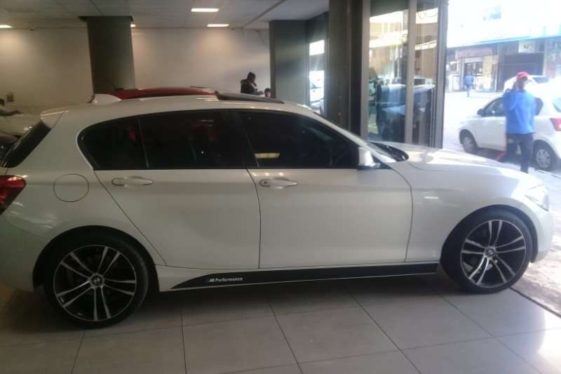 BMW 1 Series 116i 5-door Edition Sport Line Shadow auto 2013