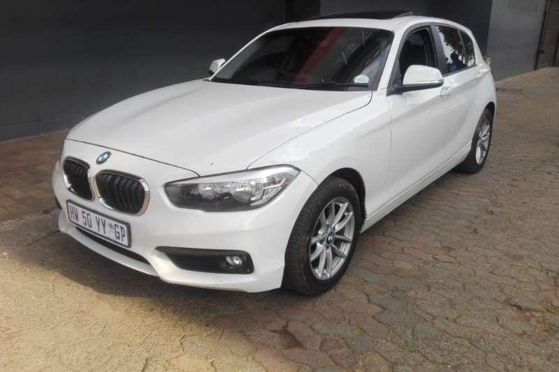 BMW 1 Series 116i 5 door Exclusive steptronic 2017