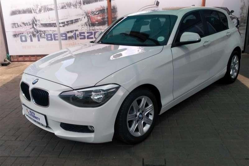 BMW 1 Series 116i 5 door (F20) 2013