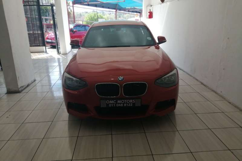 BMW 1 Series 116i 5 door M Sport auto 2014